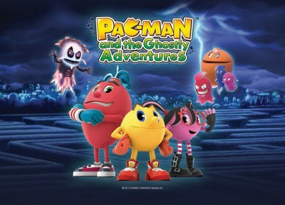 Netflix Serie - Pac-Man and the Ghostly Adventures - Nu op Netflix