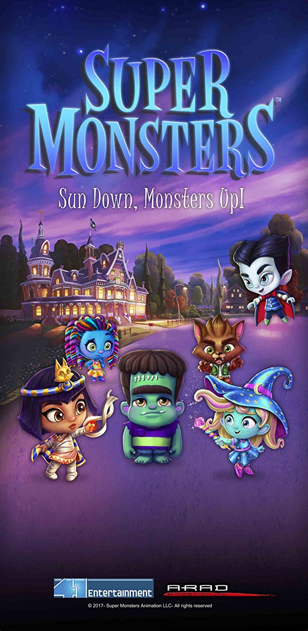 Netflix Serie - Super Monsters - Nu op Netflix