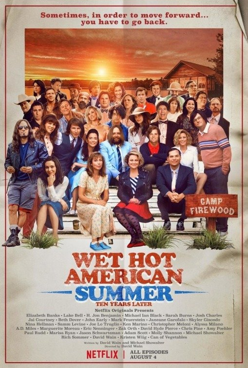 Netflix Serie - Wet Hot American Summer: Ten Years Later - Nu op Netflix