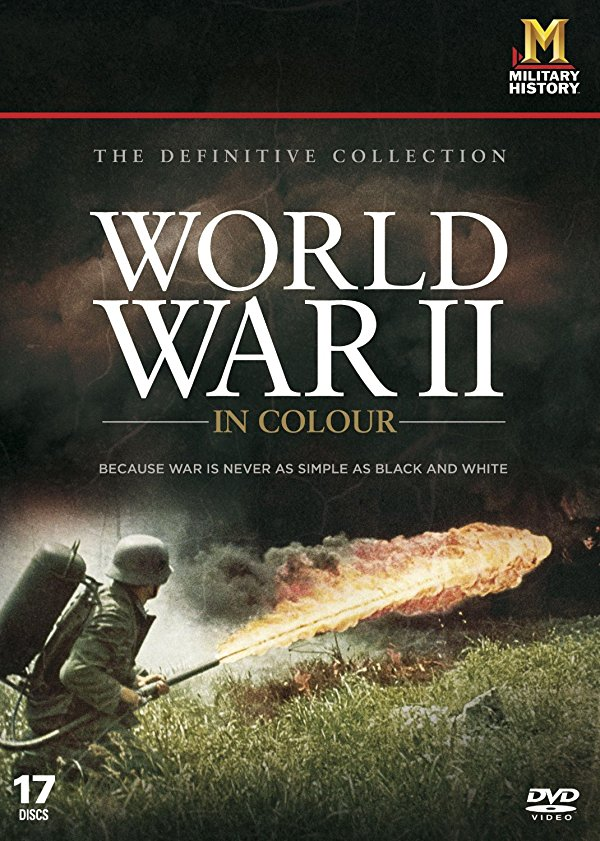 Netflix Serie - World War II In Colour - Nu op Netflix